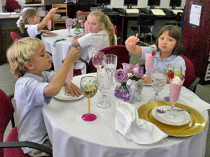 Fun Children's Etiquette Classes